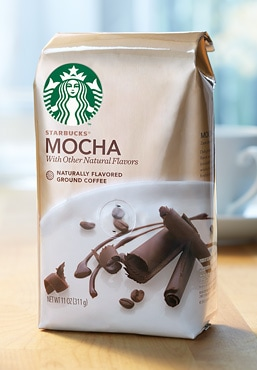 Starbucks® Mocha Naturally Flavored Coffee