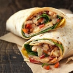 Roasted Chicken Salsa Wrap
