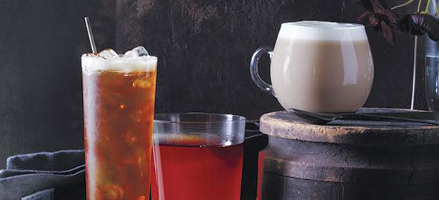 Enjoy our tea iced, hot, or as a latte