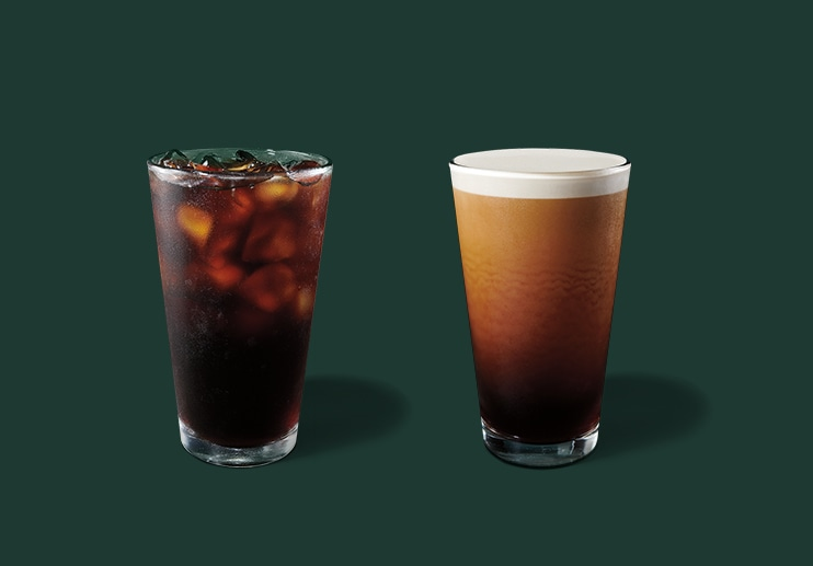 Cold Brew, Iced Coffee