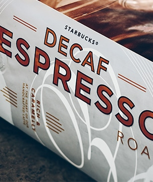 Starbucks® DECAF ESPRESSO ROAST