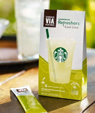 Starbucks VIA Cool Lime