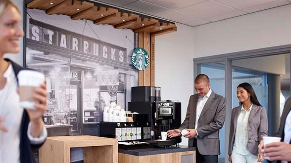 Starbucks Coffee Machines For Businesses Starbucks in deinem Büro | Starbucks Coffee Company