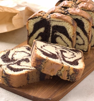 Coffee Marble Pound Cake Recipe