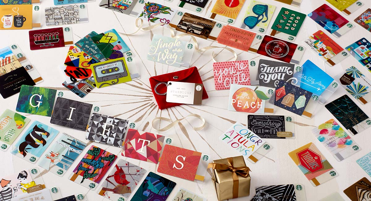 Starbucks giftcard set