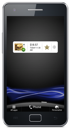 New widget available.