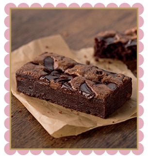 Double-Chocolate Chunk Brownies Recipes — Dishmaps
