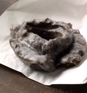 Chocolate Old-Fashioned Doughnut