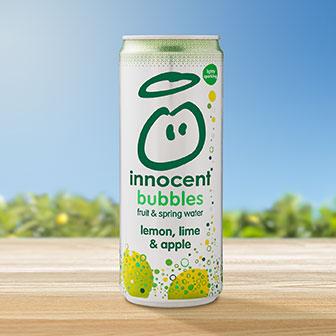 Innocent Bubble Lemon, Lime, & Apple
