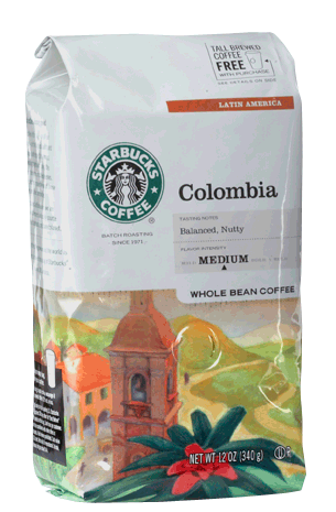Colombia Coffee Bag