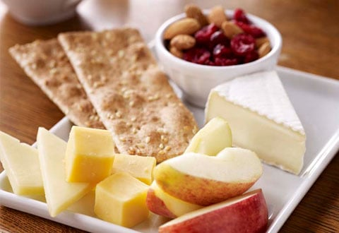 Fruit, Nut & Cheese Snack Plate