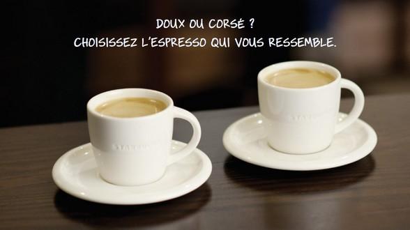 Choisissez votre espresso