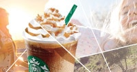 Caramel Ribbon Crunch Frappachino