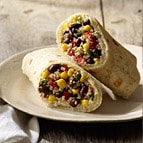 Black Bean Quinoa Wrap