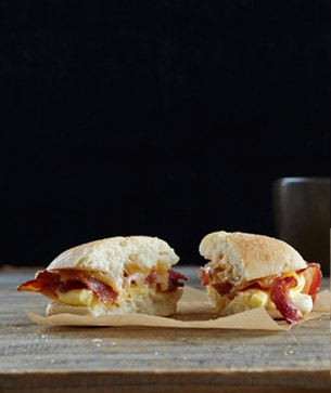 Bacon & Gouda Breakfast Sandwich