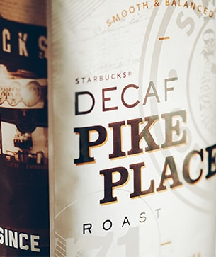 Starbucks® Decaf Pike Place® Roast