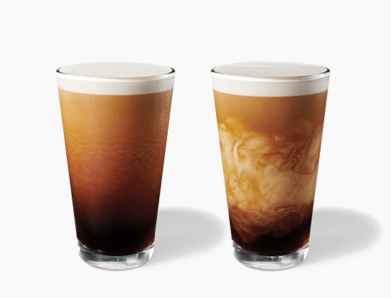 Nitro Cold Brew and Nitro Cold Brew with Sweet Cream