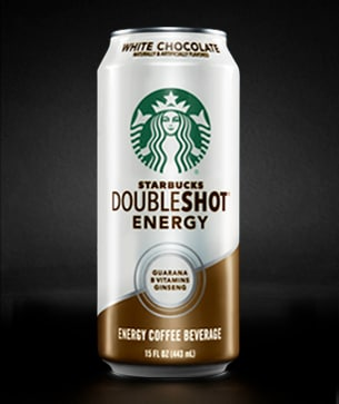 Starbucks Doubleshot 174 Energy White Chocolate Drink