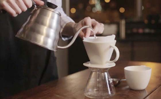 Pour Over Starbucks Coffee Company