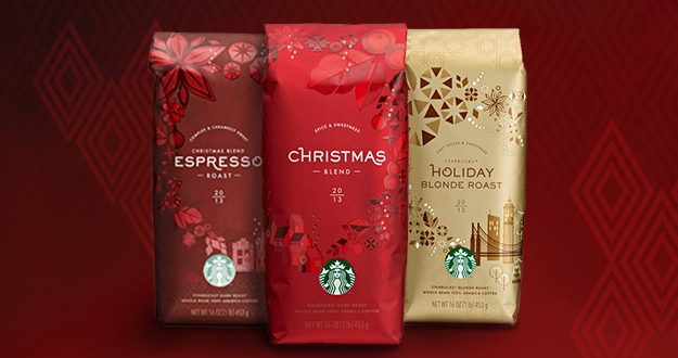 Christmas Whole Bean Coffees