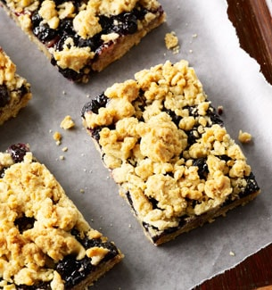 Blueberry Oat Bar