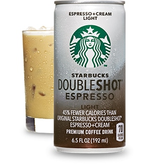 Starbucks Doubleshot Espresso Light