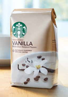 Starbucks® Vanilla Naturally Flavored Coffee