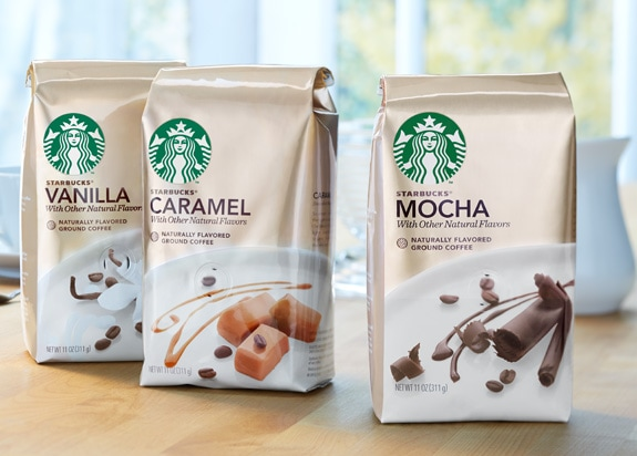 Starbucks Flavored Coffees