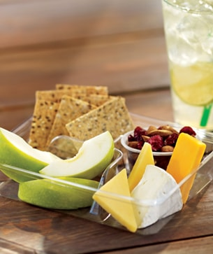 Cheese and Fruit Bistro Box