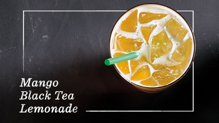 Mango Black Tea Lemonade is back