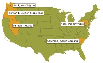 US Roasting Plant Locations