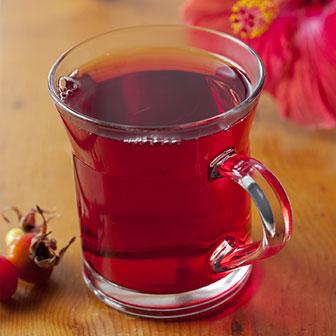 Hibiscus Blend Brewed Tea
