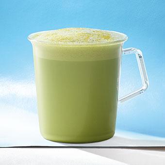 Citrus Mint Green Tea Latte