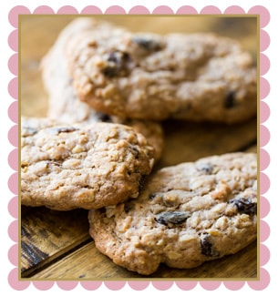 starbucks oatmeal cookie