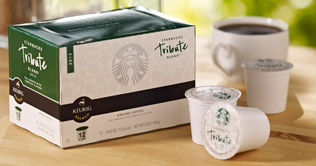 Starbucks Tribute Blend K-Cups