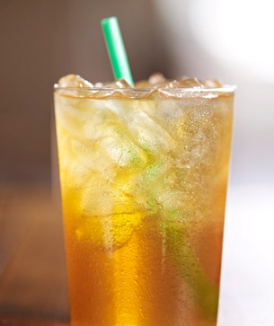 tazo shaken iced peach green tea