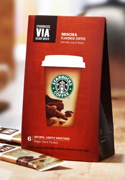 Starbucks VIA® Flavored Coffee - Mocha
