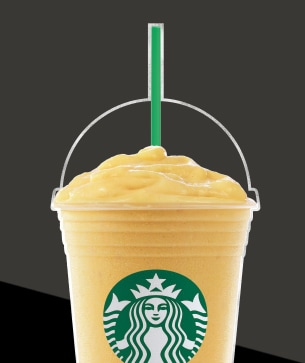 Mango Passion Fruit Yoghurt Frappuccino Blended Beverage