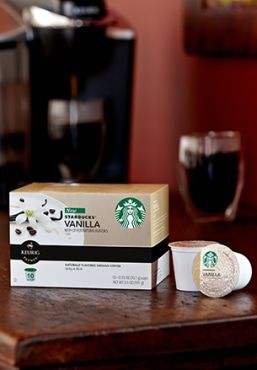 Starbucks® Vanilla K-Cup® Packs