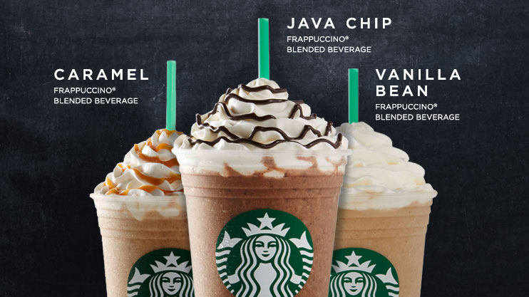 Starbucks Frappuccino 174 And Other Blended Drinks