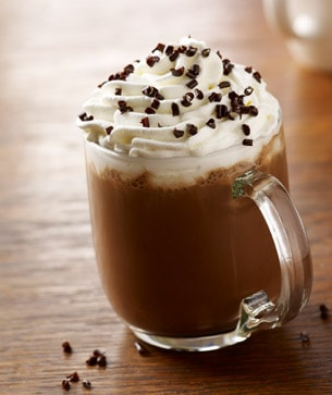 Image of a dark cherry mocha