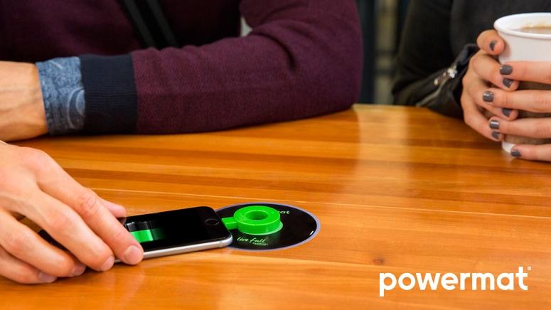 Powermat Wireless Charging Starbucks Coffee Company