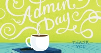 Admins Day Starbucks Card