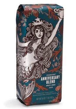 Anniversary Blend Coffee Detail Starbucks Coffee Company