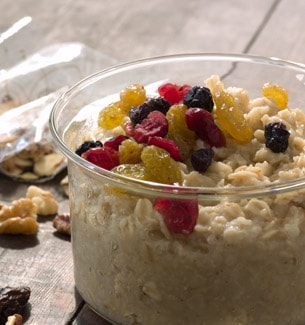Dried Fruit Topping for Starbucks® Oatmeal