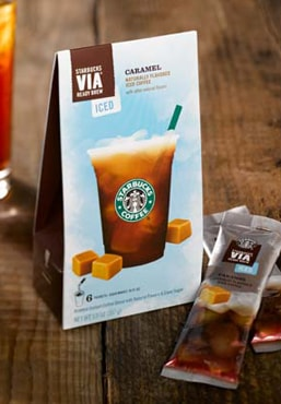 VIA Iced Caramel
