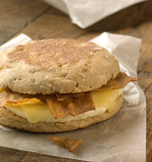 Turkey Bacon & White Cheddar Classic Breakfast Sandwich