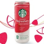 Starbucks Refreshers Strawberry Lemonade
