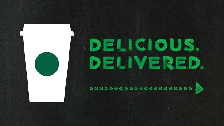 Starbucks Delivery Starbucks Coffee Company