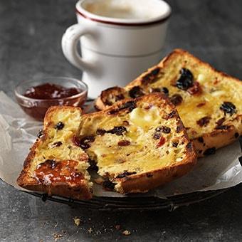 Luxury Fruit Toast